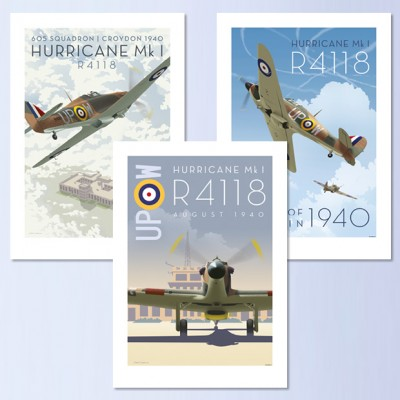 R4118 Posters - Set of 3