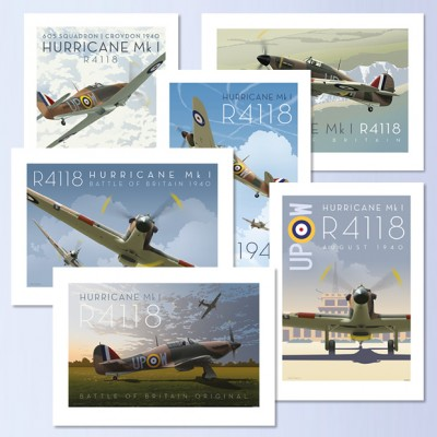 R4118 Posters - Set of 6